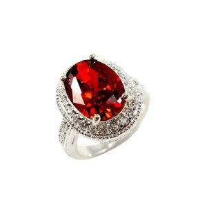 075-Tall-Natural-Oval-Garnet-925-Sterling-Silver-Set-Ring-Size-6-Stamped-172541432450