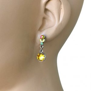 1-Drop-Classic-Yellow-Crystal-Earrings-By-Anne-Koplik-Made-In-USA-362072617500