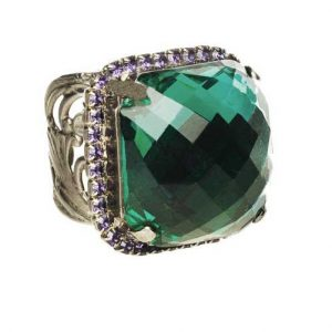 Northern-Lights-Collection-Emerald-Green-Crystal-Adjustable-Ring-By-Sorrelli-361963048540