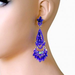 325-Long-Royal-Blue-Rhinestones-Evening-Earrings-PageantDrag-QueenBridal-362105361711