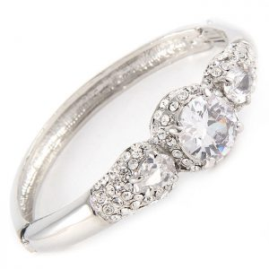 Vintage-Inspired-Bridal-Bangle-Style-Bracelet-With-Hinge-Clear-Crystal-172706043321
