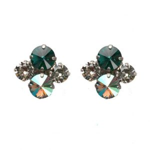 Viridescence-Collection-Emerald-Green-AB-Crystals-Earrings-By-Sorrelli-Bride-172700574911