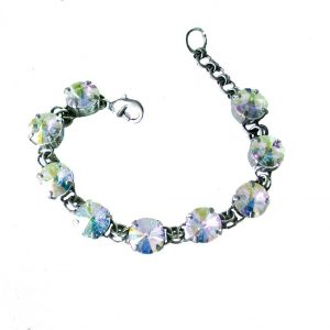 Silver-Tone-Aurora-Borealis-Crystals-Evening-Bracelet-By-SorrelliBridalPageant-361717627872