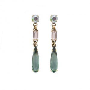 2-Long-Gem-Pop-Collection-Green-Nude-Aurora-Borealis-Crystal-Earring-Sorrelli-172796624313