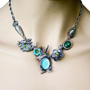 Bunny-Rabbit-Whimsical-Statement-NecklaceLa-Contessa-By-Mary-DeMarcoMade-in-US-172687600863