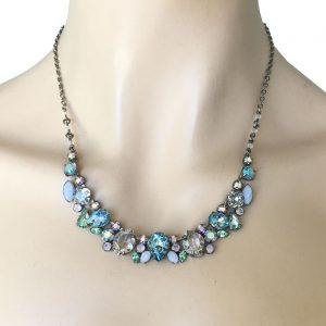 Classic-Style-Light-Blue-Quartz-Crystals-Necklace-Signed-By-Sorrelli-Bridal-172794429903