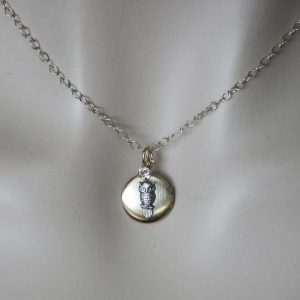 Gold-Filled-Chain-With-Owl-Locket-Pendant-Necklace-By-Clara-Beau-Made-In-USA-172335173303