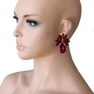 125-Drop-Pink-Rhinestones-Clip-On-earrings-PageantDrag-QueenBridal-361677958244