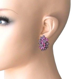 125-Drop-Pink-Rhinestones-Clip-On-earrings-PageantDrag-QueenBridal-362105385614