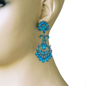 25-Long-Simulated-Vivid-Blue-Opal-Rhinestone-Evening-Earrings-PageantBridal-172348196824