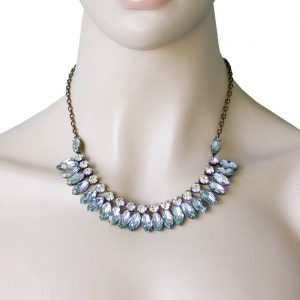 Light-Aqua-Collection-Classic-Necklace-By-Sorrelli-Light-Blue-Clear-Crystals-361913162504
