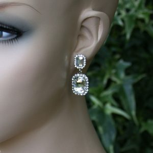 125-Long-Classic-Lucite-Crystals-Dangle-Earrings-Bridal-Pageant-361263531205