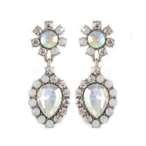 175-Long-Earrings-Clear-Opal-Aurora-Borealis-Crystal-Pageant-Bridal-172266966365