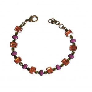 Juicy-Fruit-Collection-Orange-Green-Crystal-Purple-Jade-Bracelet-By-Sorrelli-172691352725