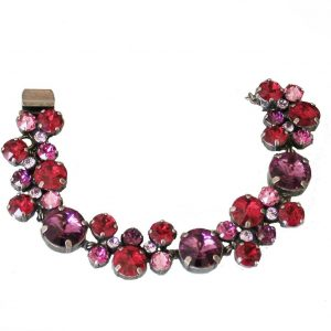 Pink-Ruby-Collection-Red-Crystals-Cluster-Bracelet-By-Sorrelli-BridalPageant-361707327475