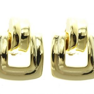 Classic-Retro-Style-125-Bright-Gold-Tone-Clip-On-Hoop-Earrings-Pageant-172605511787