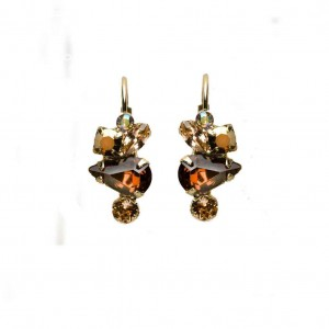 Gold-Leaf-Collection-10K-Bright-GP-Earrings-By-Sorrelli-Topaz-Crystals-Bridal-172089307727