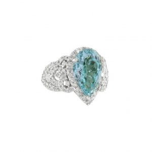 426CT-Lab-Created-Aquamarine-Silver-Plated-Princess-Ring-Size-7-8-9-361964913858