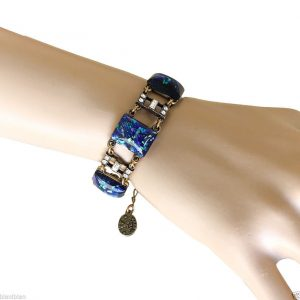 Lab-Created-Blue-Opal-Bracelet-By-Anne-KoplikMade-In-USADancing-With-The-Stars-362028079558