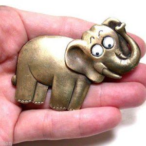 Vintage-Elephant-Pin-Signed-JJ-Jonette-Jewelry-Made-in-Usa-Google-Eyes-361993537118