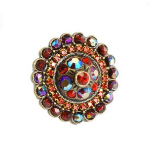 Round-Red-Statement-Cocktail-Ring-By-Olipop-Sweet-Romance-Crystals-MADE-IN-USA-172340121369